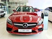 Mercedes C180 AMG 2021 đủ màu giao ngay - ưu đãi siêu hot 50% lệ phí trước bạ1