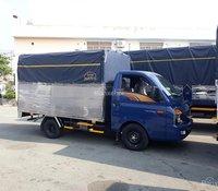 Cần bán Hyundai Porter 150 mui bạt, năm sản xuất 2020, màu xanh lam, xe nhập