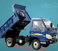 Giá xe Ben Thaco FD250E4 tải trọng 2,49 tấn Trường Hải 2.1m3 ở Hà Nội. LH: 098.253.6148