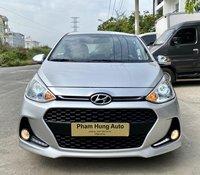 Cần bán Hyundai Grand i10 sx 2017, màu bạc, nhập khẩu nguyên chiếc