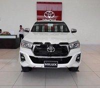 Bán Toyota Hilux 2019, màu trắng, nhập khẩu, mới hoàn toàn