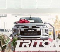 Bán Mitsubishi Triton năm sản xuất 2019, màu bạc, nhập khẩu. Ưu đãi hấp dẫn