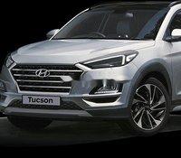Bán Hyundai Tucson 2020, màu bạc, xe nhập