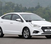Bán xe Hyundai Accent đời 2020, màu trắng