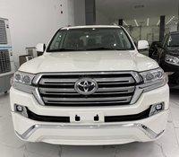 Bán Toyota Land Cruise VXR 4.6,màu trắng 2019, nhập Trung Đông, mới 100%, xe giao ngay