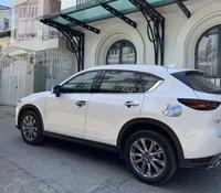 Bán xe Mazda CX 5 2.5AT Signature Premium năm 2019, màu trắng, chạy lướt