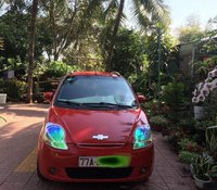Cần bán Chevrolet Spark sản xuất 2009, màu đỏ xe gia đình