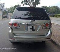 Bán Toyota Fortuner 2.7AT đời 2014, màu bạc số tự động, giá tốt