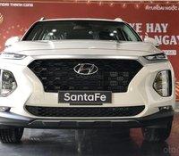 Ưu đãi giảm giá sâu - tặng phụ kiện chính hãng khi mua chiếc Hyundai Santa Fe máy xăng cao cấp, sản xuất 2020, giao nhanh