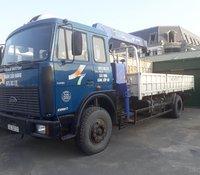 Ngân hàng bán thanh lý xe tải có cần cẩu đã qua sử dụng