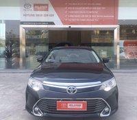 Cần bán Toyota Camry 2.5G 2016, đen, đã đi 115.000km, xe Cty XHĐ giá tốt