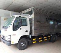 Isuzu 2.300 kg, thùng kín inox 4.4m, KM máy lạnh, 12 phiếu bảo dưỡng