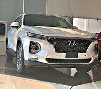 Bán xe Hyundai Santa Fe năm sản xuất 2020, màu bạc