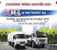 Xe Mitsubitshi Fuso Canter khuyến mại 100% phí trước bạ