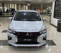 Bán xe Mitsubishi Attrage CVT sản xuất năm 2020, nhập khẩu Thái Lan - Khuyến mãi tốt nhất Miền Bắc. Tặng BH thân vỏ