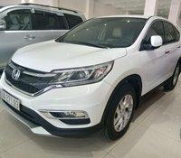 Bán Honda CRV 2.0 2016 màu trắng, xe một chủ từ đầu còn zin nguyên bản