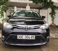 Bán xe Toyota Vios E 2016 màu đen
