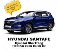 Bán ô tô Hyundai Santa Fe 2.4L Premium đời 2020, màu xanh lam, giá cạnh tranh