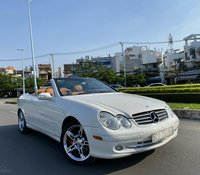 Merc CLK 320 mui trần ĐK 2007 / 2 cửa 5 chỗ số tự động hàng full cao cấp đủ đồ chơi, camera, xe màu trắng ca may nội thất
