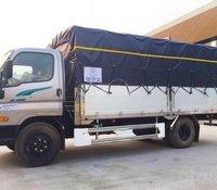 Hyundai New Mighty 110SP, tải 7t, thùng 5m, Hyundai Thành Công, giá rẻ trả góp, xe tải trung