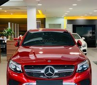(Xe nhập) Mercedes GLC 300 Coupe 2020 đỏ giảm 8% có xe giao ngay giá cực tốt