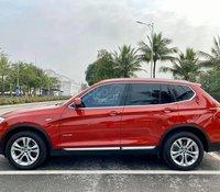 Bán BMW X3 đời 2017, màu đỏ, nhập khẩu nguyên chiếc