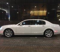 Chủ đi định cư nước ngoài nên sang nhượng siêu xe Bentley Continental Spur 2012, màu trắng như mới