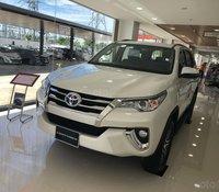 Bán xe Toyota Fortuner 2.7 nhập khẩu đời 2020 - màu trắng ngọc trai giao ngay