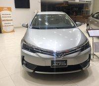 Bán Toyota Corolla Altis 1.8G 2020 màu bạc khuyến mãi tốt.