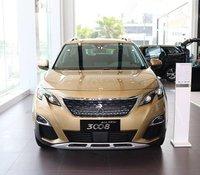 Peugeot 3008, màu vàng, hỗ trợ thuế trước bạ, chương trình khuyến mãi siêu ưu đãi, giảm ngay 70 triệu khi mua xe