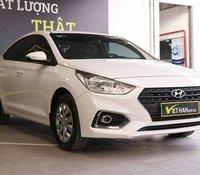 Cần bán gấp Hyundai Accent 1.4MT đời 2018, màu trắng còn mới giá cạnh tranh