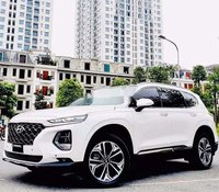 Bán ô tô Hyundai Santa Fe đời 2020, màu trắng
