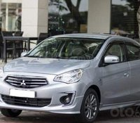 Bán Mitsubishi Attrage sản xuất 2019, màu bạc, xe nhập
