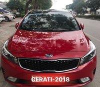 Cần bán gấp Kia Cerato 1.6 sản xuất 2018, màu đỏ còn mới