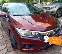 Cần bán lại xe Honda City đời 2017, màu đỏ như mới, giá 520tr