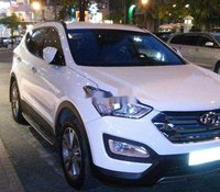Cần bán xe Hyundai Santa Fe 2014, màu trắng, xe nhập