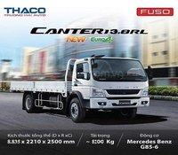 Xe tải Mitsubishi Fuso Fi 170L tải trọng 8 tấn 2 - thùng 6m9
