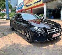 Mercedes Benz E250 sản xuất 2018 màu đen nội thất kem odo 28000km bao check hãng toàn quốc