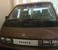 Bán Toyota Van đời 1989 cũ, màu nâu, số sàn