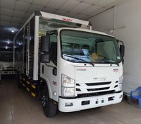 Isuzu 5.500 kg, thùng kín 6.1m, khuyến mại máy lạnh