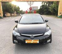 Honda Civic 1.8AT sản xuất năm 2008, tự động, màu đen, không lỗi nhỏ, chính chủ đã vào full 25 triệu đồ chơi xe