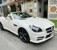 Cần bán Mercedes SLK350 đời 2012, màu trắng, nhập khẩu