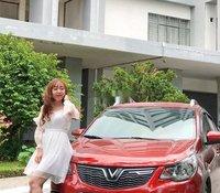 Bán xe VinFast Fadil sản xuất 2020, màu đỏ, giá giảm mạnh T6