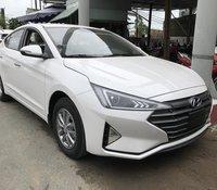Bán xe Hyundai Elantra 2019 số sàn, xe mới 100% màu trắng, tặng ngay thuế trước bạ, duy nhất 1 xe