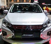 Bán Mitsubishi Attrage đời 2020, màu trắng