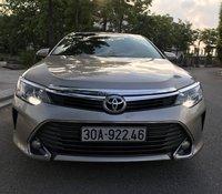 Công chức nghỉ hưu cần bán Toyota Camry 2.0E màu ghi vàng, đời 2016, 5 lốp zin theo xe lốp sơ cua chưa hạ