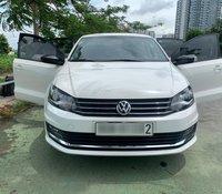 Volkswagen Polo 2018 1.6 AT mới không tỳ vết, trắng ngọc trinh, nhìn sang, đăng ký 2019. Xe trùm mền, đi 1050 km, siêu lướt