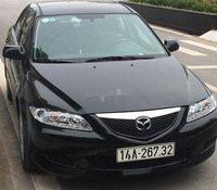 Cần bán Mazda 6 đời 2004, màu đen, giá chỉ 240 triệu
