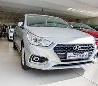 Bán xe Hyundai Accent 1.4 AT 2018 màu bạc, trả trước chỉ 141 triệu