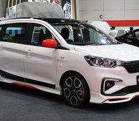 Hỗ trợ giao xe nhanh tận nhà với chiếc Suzuki Ertiga Sport đời 2020, màu trắng, xe nhập
